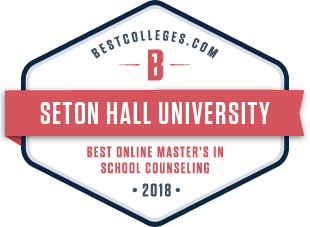 Master's in School Counseling badge 2018
