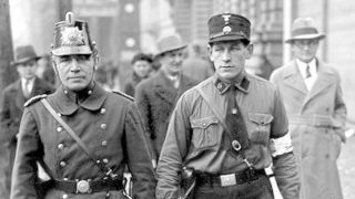 Photo of two Nazi policemen