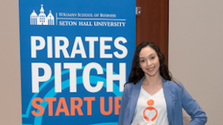 Alissa Lopez at Pirate Pitch