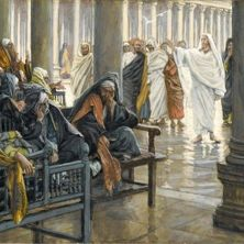 Woe Unto You by James Tissot