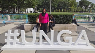 Youth Observer, Munira Khalif