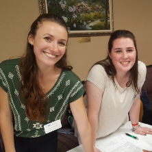 Occupational Therapy Students Participate in Local Health Fair