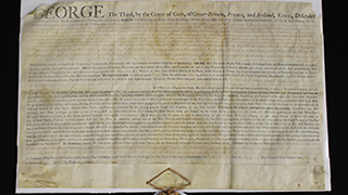 King George III Land Decree