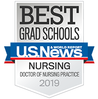USNews Nursing DNP Ranking badge
