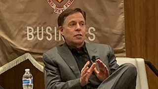 Bob Costas Speaks at Seton Hall