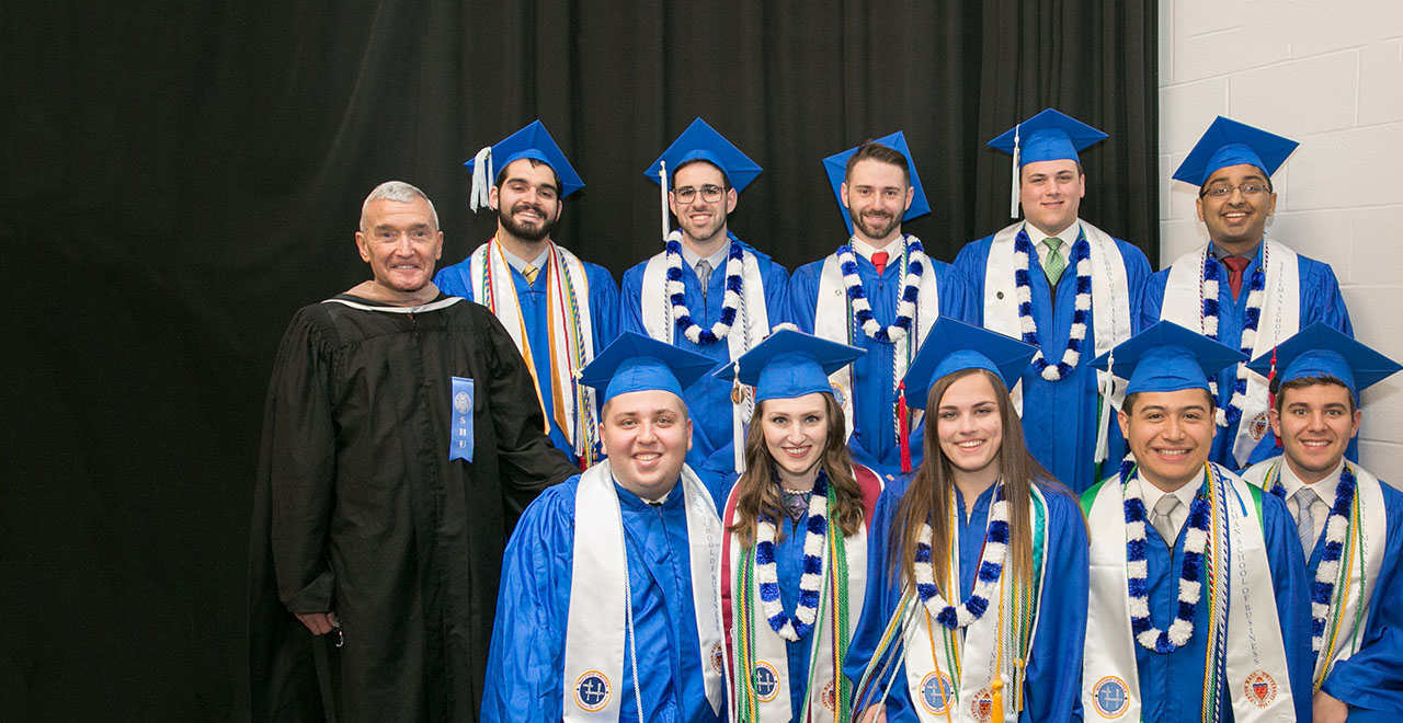 Class of 2018 Graduates in the Gerald P. Buccino '63 Center for Leadership Development