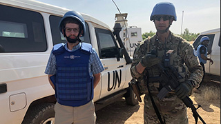Courtney Smith, of the School of Diplomacy and International Relations, recently traveled to Mali for a first hand look at the UN Peacekeeping mission there.
