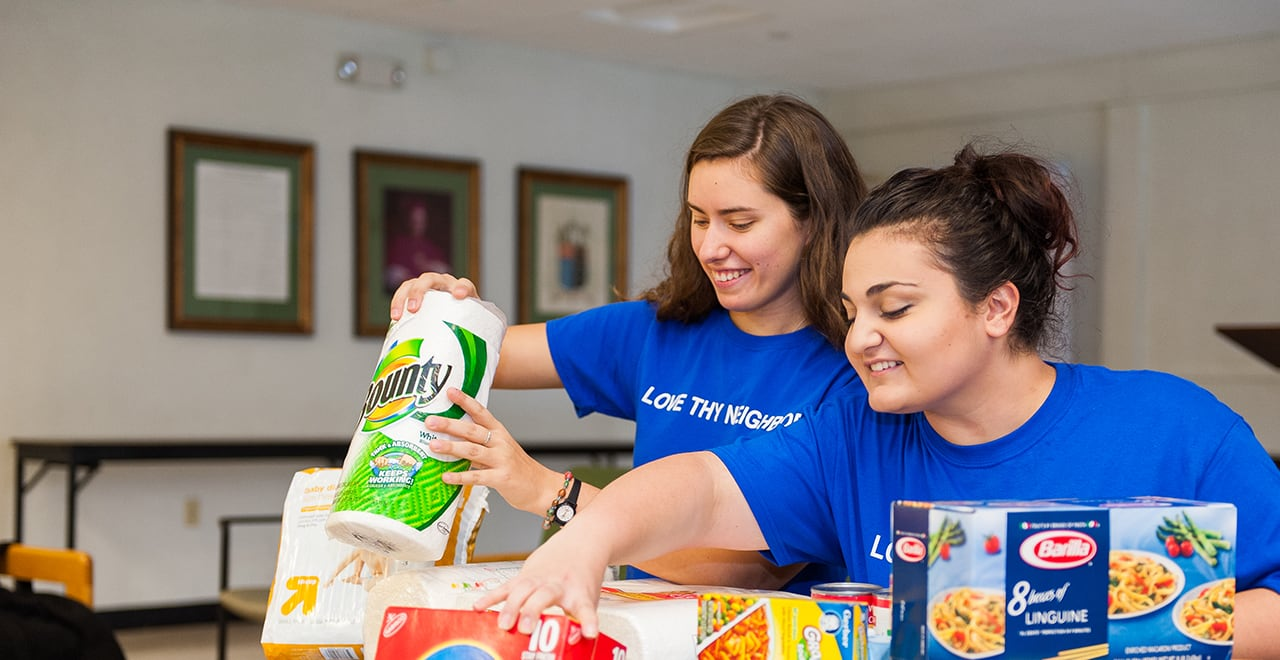 DOVE's Food Drive Helps Feed the Hungry