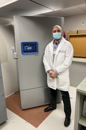 Picture of Dr. James Love at hopsital