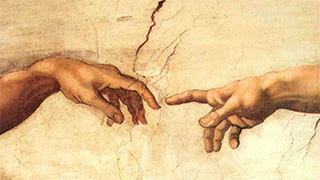 Strength of hope; Hands uniting