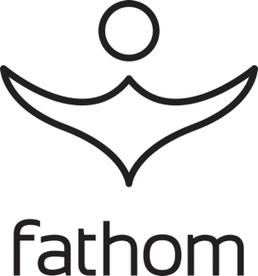 Logo for Fathom.