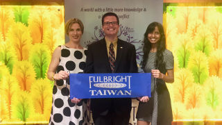 Photo of Seton Hall Fulbright Scholars in Taiwan