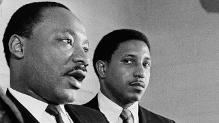 Dr. Bernard LaFayette, Jr. and Martin Luther King Jr.