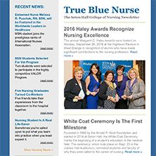 True Blue Nurse, Fall 2016